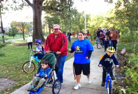 Bike to school day circa 2011